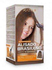 Kativa Brazilian Straightening Brazylijskie prostowanie włosów zestaw