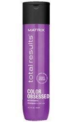 Szampon Matrix Color Obsessed do włosów farbowanych 300ml