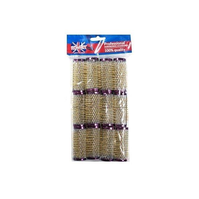 Wałki metalowe ze szczotką Ronney 25/63 12 szt RA00024