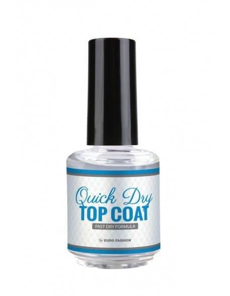 Quick Dry Top Coat Eurofashion 15 ml