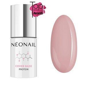 Baza hybrydowa Neonail Cover Base Protein Natural Nude 7,2 ml
