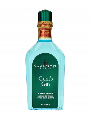 Gent's Gin After Shave Clubman lotion po goleniu 177ml