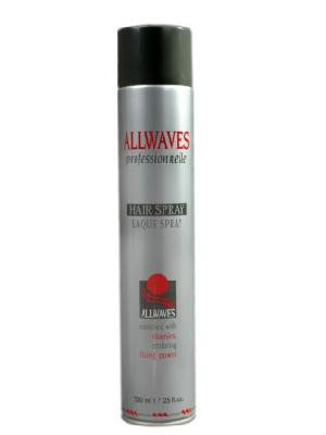 Lakier Allwaves Hair Spray 750 ml mocny