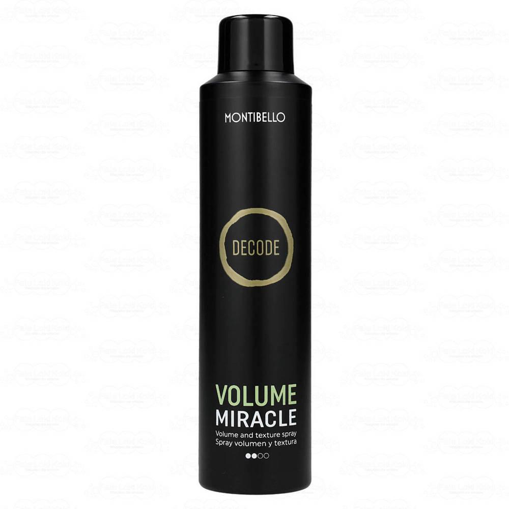 MONTIBELLO DECODE spray nadający objętość Volume Miracle 250 ml