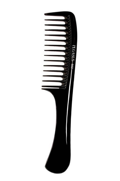 PEGASUS 502 Grzebień fryzjerski kauczukowy