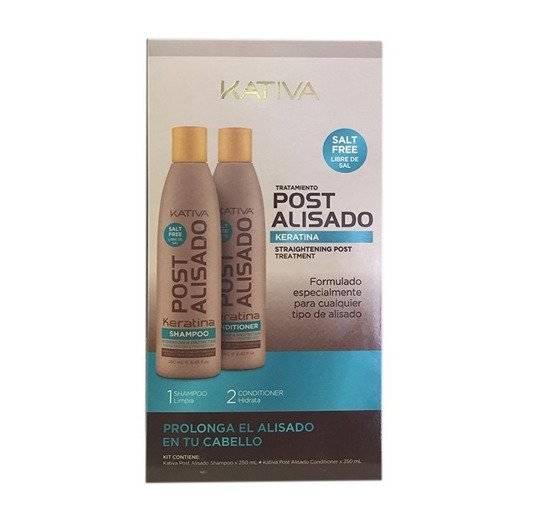 Zestaw Kativa Post 2 x 250 ml  Keratin Treatment