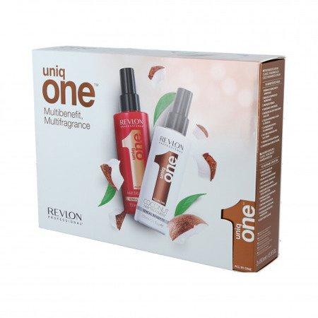 Zestaw odżywek do włosów Revlon Uniq One Coconut Revlon Uniq One 10w1 150ml